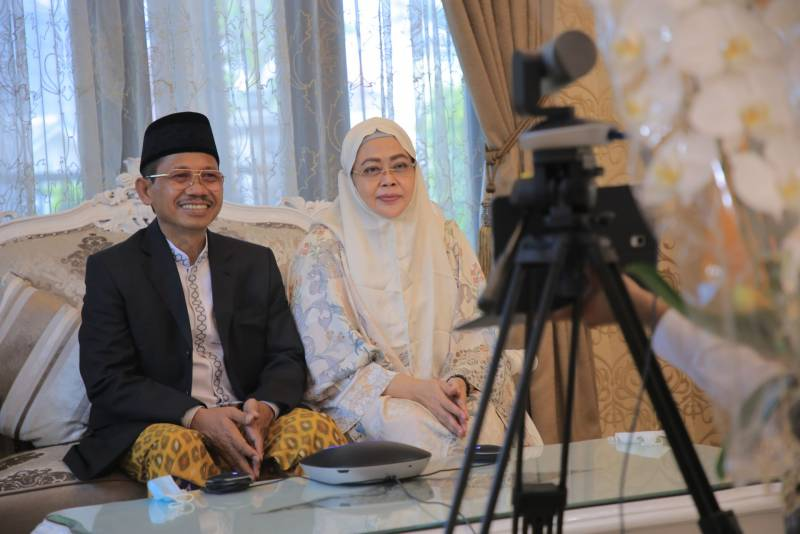 Momen Idul Fitri, Wali Kota Manfaatkan Jejaring Sosial Untuk Silaturahmi Secara Daring